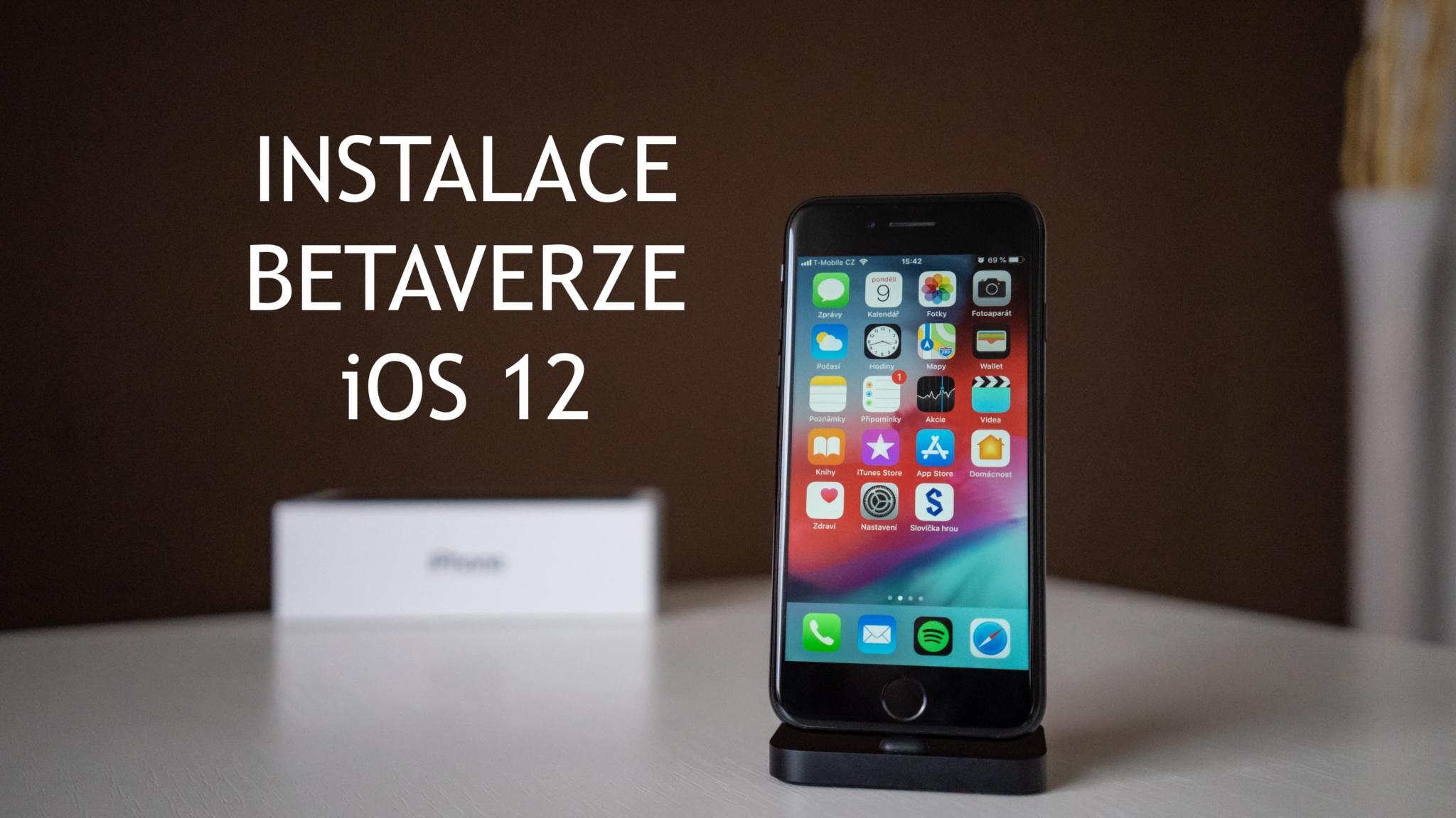 Jak nainstalovat betaverzi iOS 12?