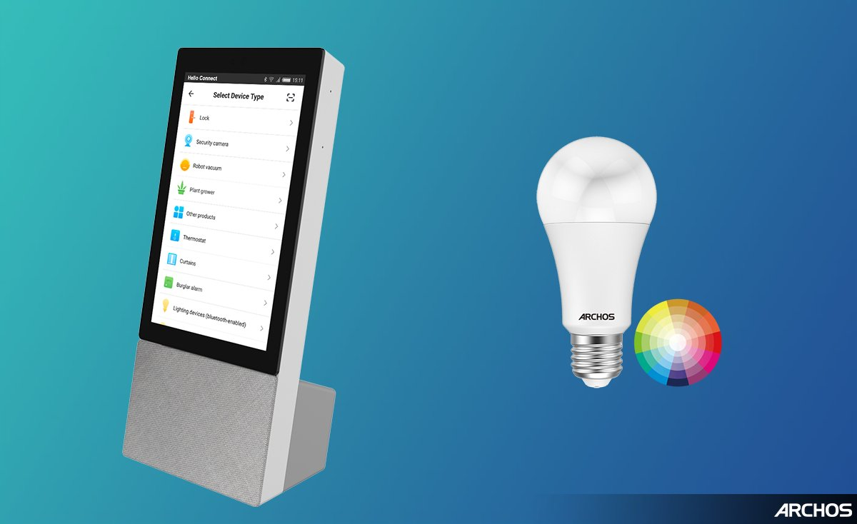 Hello Connect: Archos představuje hlasově ovládanou inteligentní domácnost
