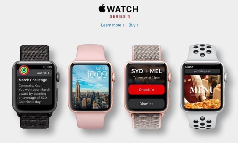 Apple Watch 4 údajně nabídnou nový design, funkce a velikosti