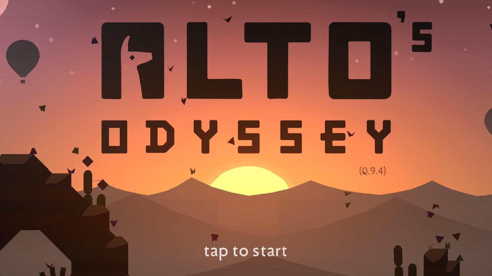 Alto's Odyssey – sjíždění kopců pokračuje v poušti [recenze]