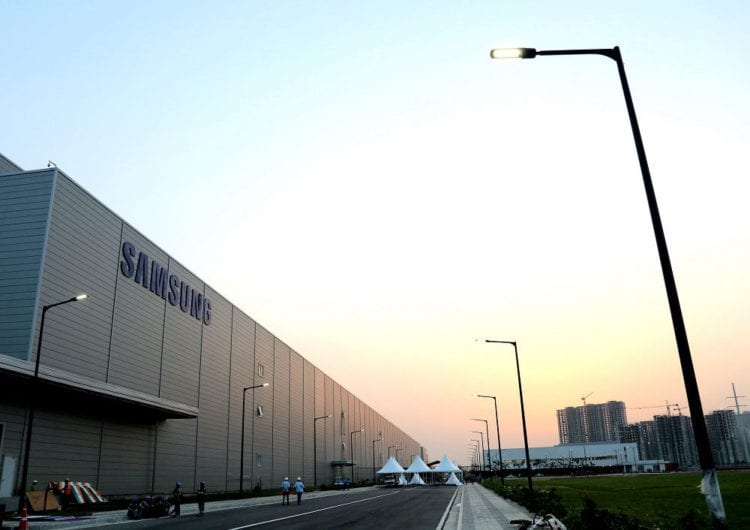 Samsung Noida Factory