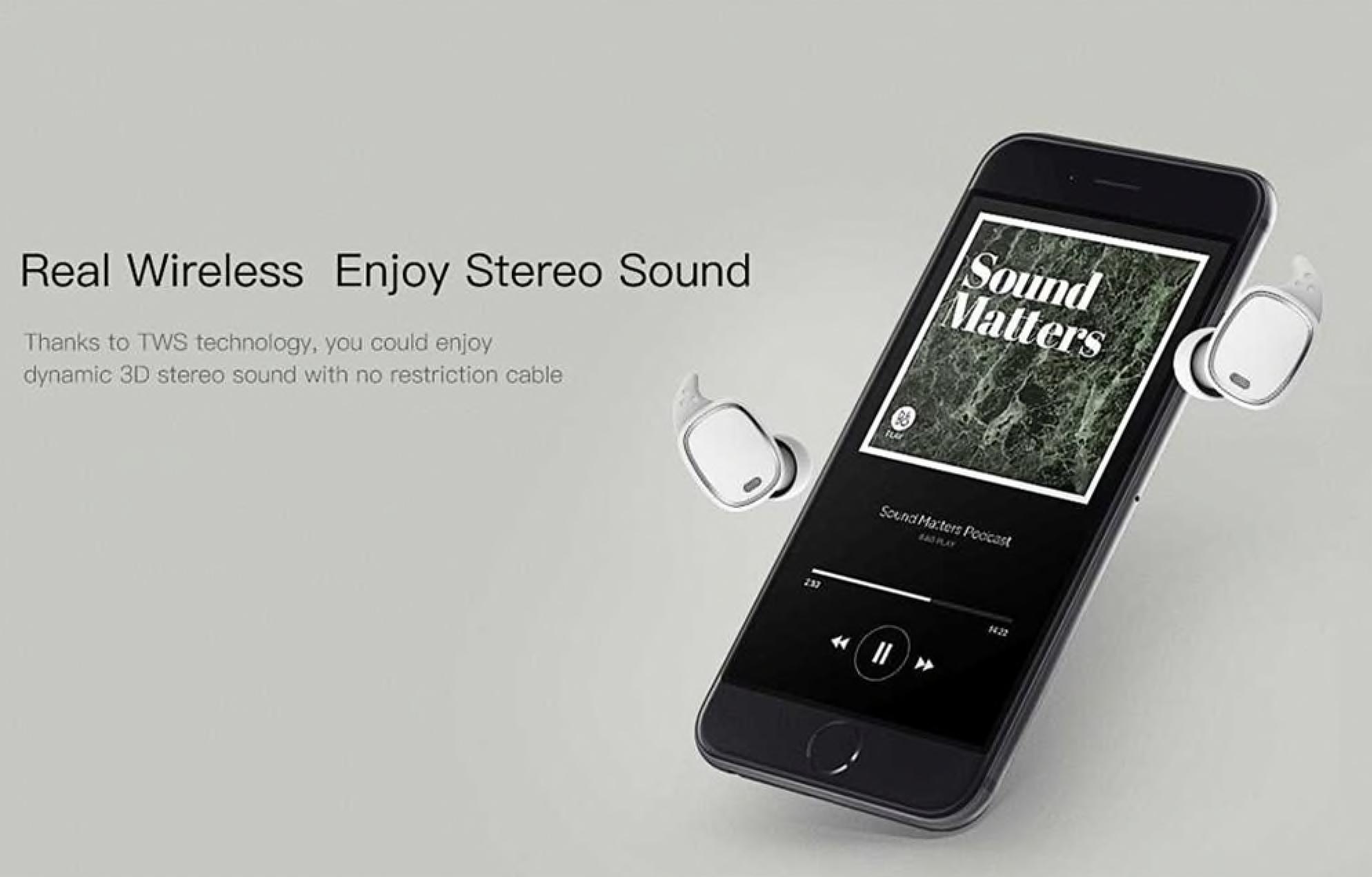 Gearbest: Skvělá bezdrátová sluchátka za více než lidovou cenu! [sponzorovaný článek]