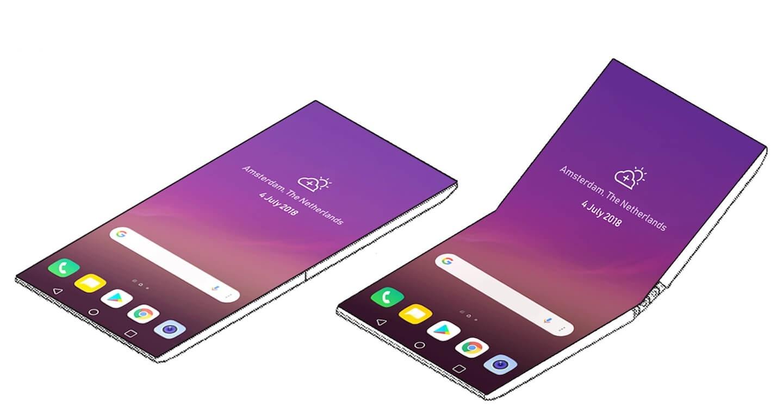 LG si patentovalo ohebný telefon bez rámečků