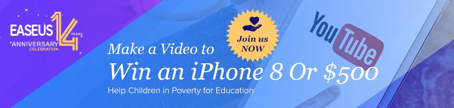 Vyhrajte s EaseUS iPhone 8 či 11 000 Kč [sponzorovaný článek]