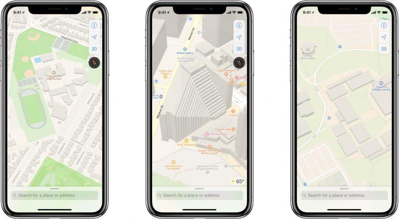 Apple Mapy budou kompletně přepracovány, nabídne ale zastaralé funkce