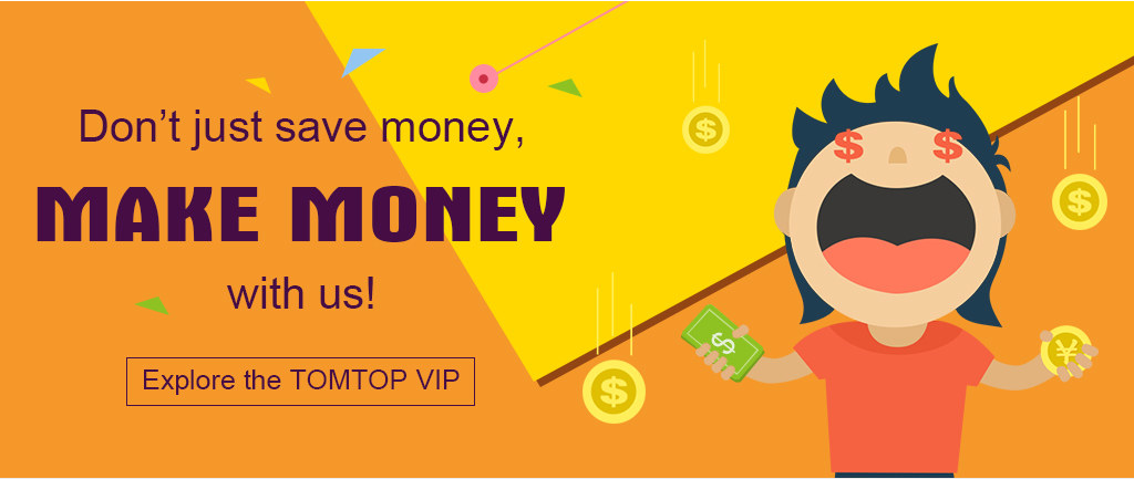 Výhodný VIP program na e-shopu TomTop [sponzorovaný článek]