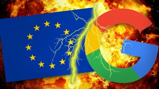 EU dala Googlu pokutu 4,34 miliard eur kvůli zneužívání postavení Androidu