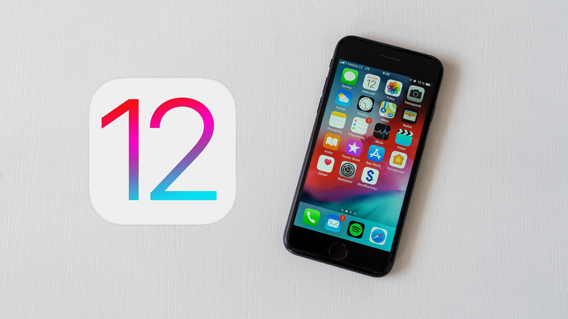 iOS 12.5.1 pro starší modely přináší opravu COVID-19 funkce