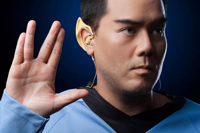 Bezdrátová sluchátka pro fanoušky Star Treku