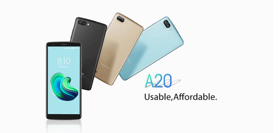Blackview A20 Pro je model s cenovkou 1 500 Kč, výkon zcela odpovídá ceně