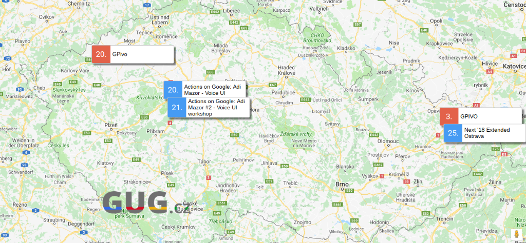 GUG.cz zve na technologicky zaměřené akce [červenec]