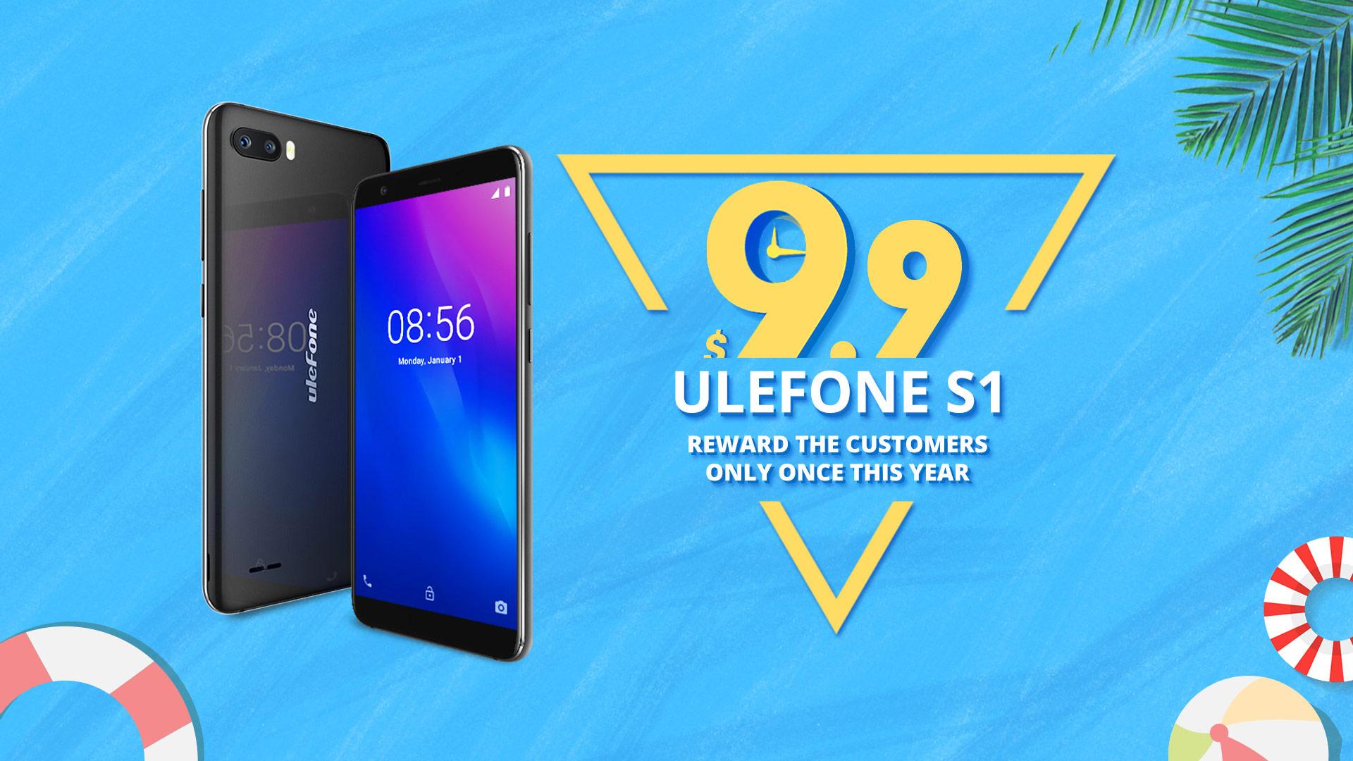 Nový model Ulefone S1 exkluzivně za 200 korun [Sponzorovaný článek]
