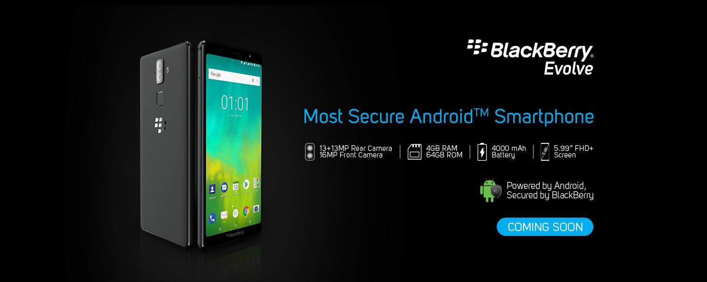 BlackBerry Evolve X a Evolve jsou indické novinky