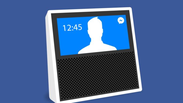 Facebook pracuje na chytrém reproduktoru Portal