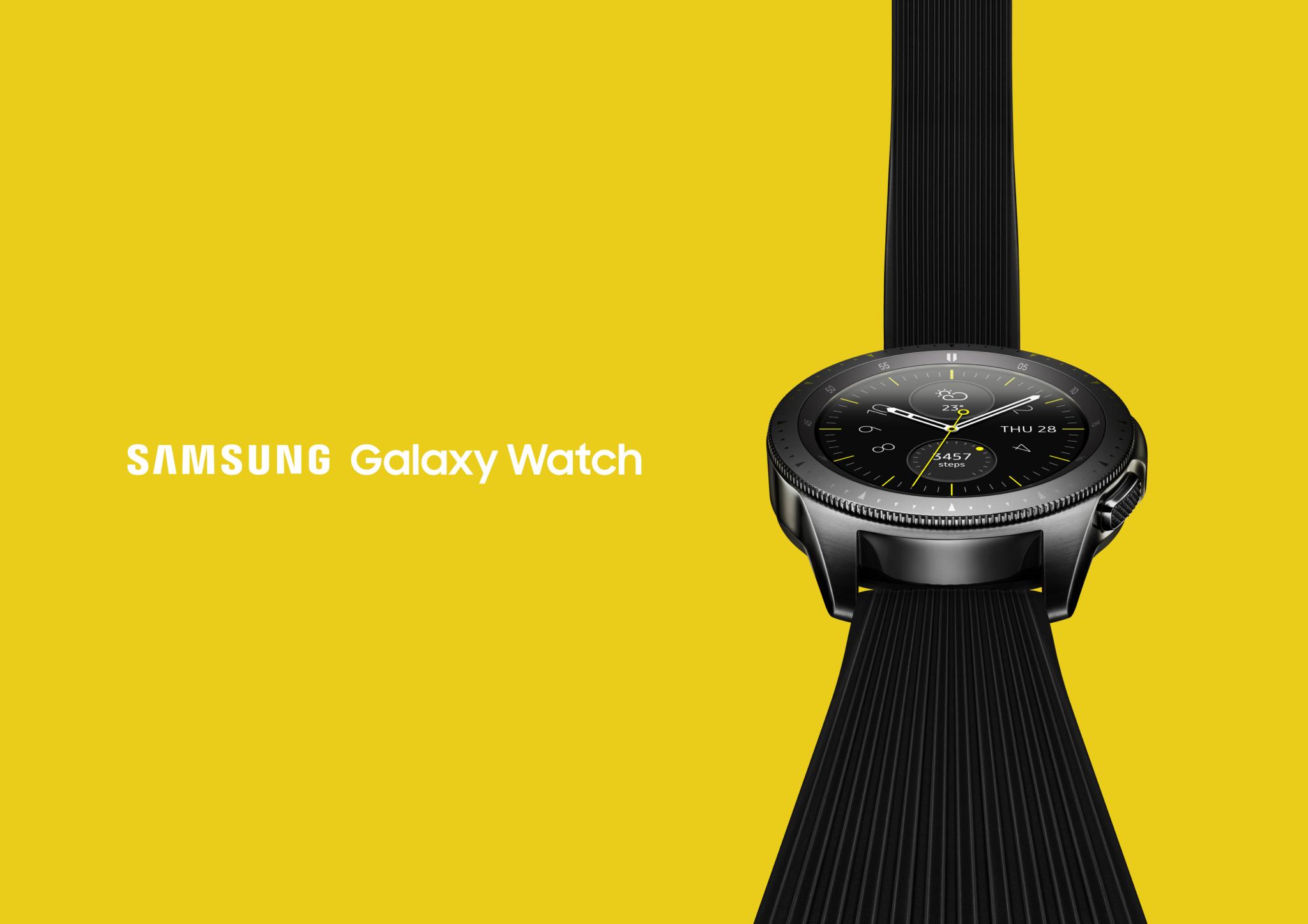 Samsung představil nové hodinky Galaxy Watch