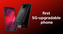 Motorola představila Moto Z3, získá podporu 5G