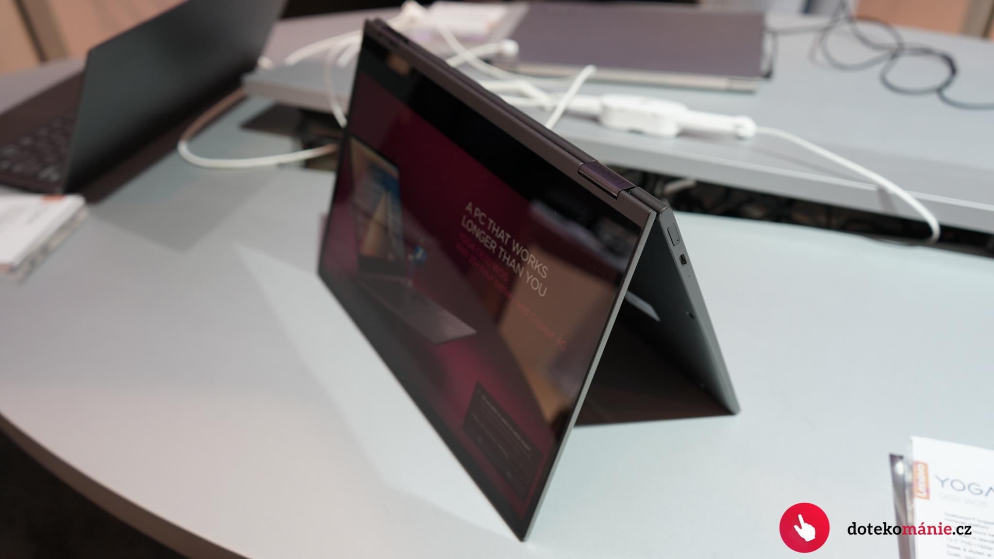 Lenovo Yoga C630 WOS přichází se Snapdragonem 850
