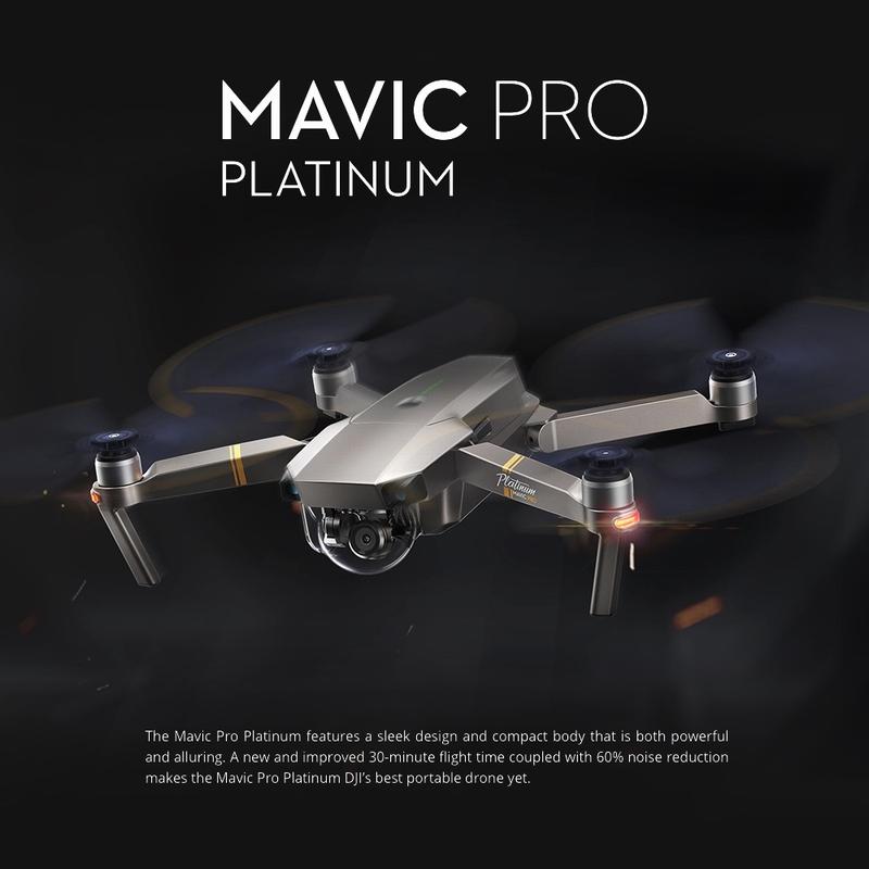DJI Mavic Pro Platinum s exkluzivní slevou u GearBestu [sponzorovaný článek]