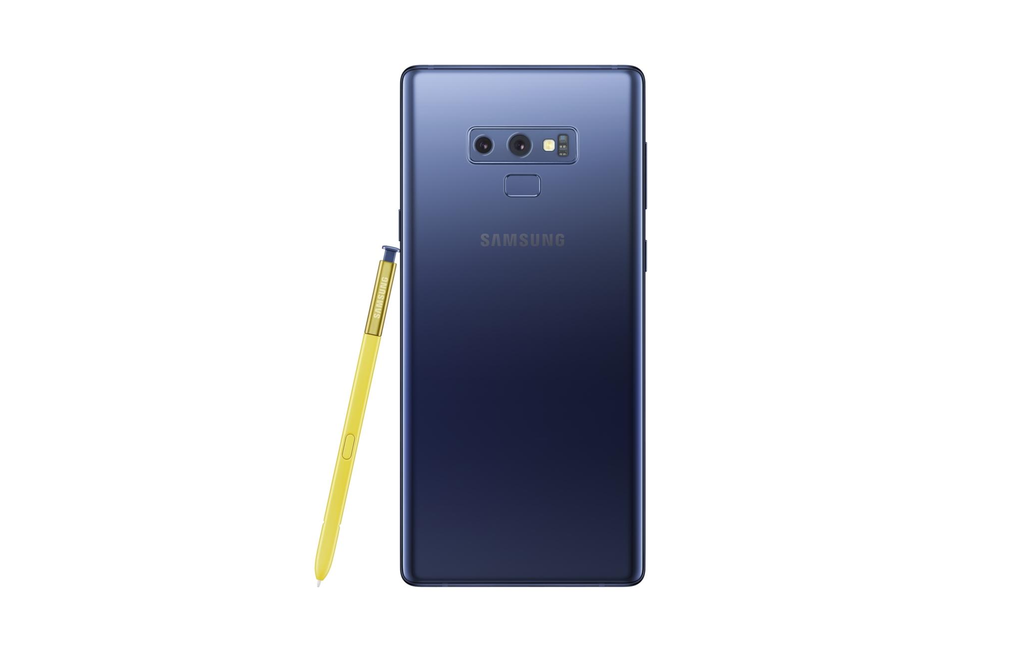 Samsung Galaxy Note 9 oficiálně, cena začíná na 25 999 Kč