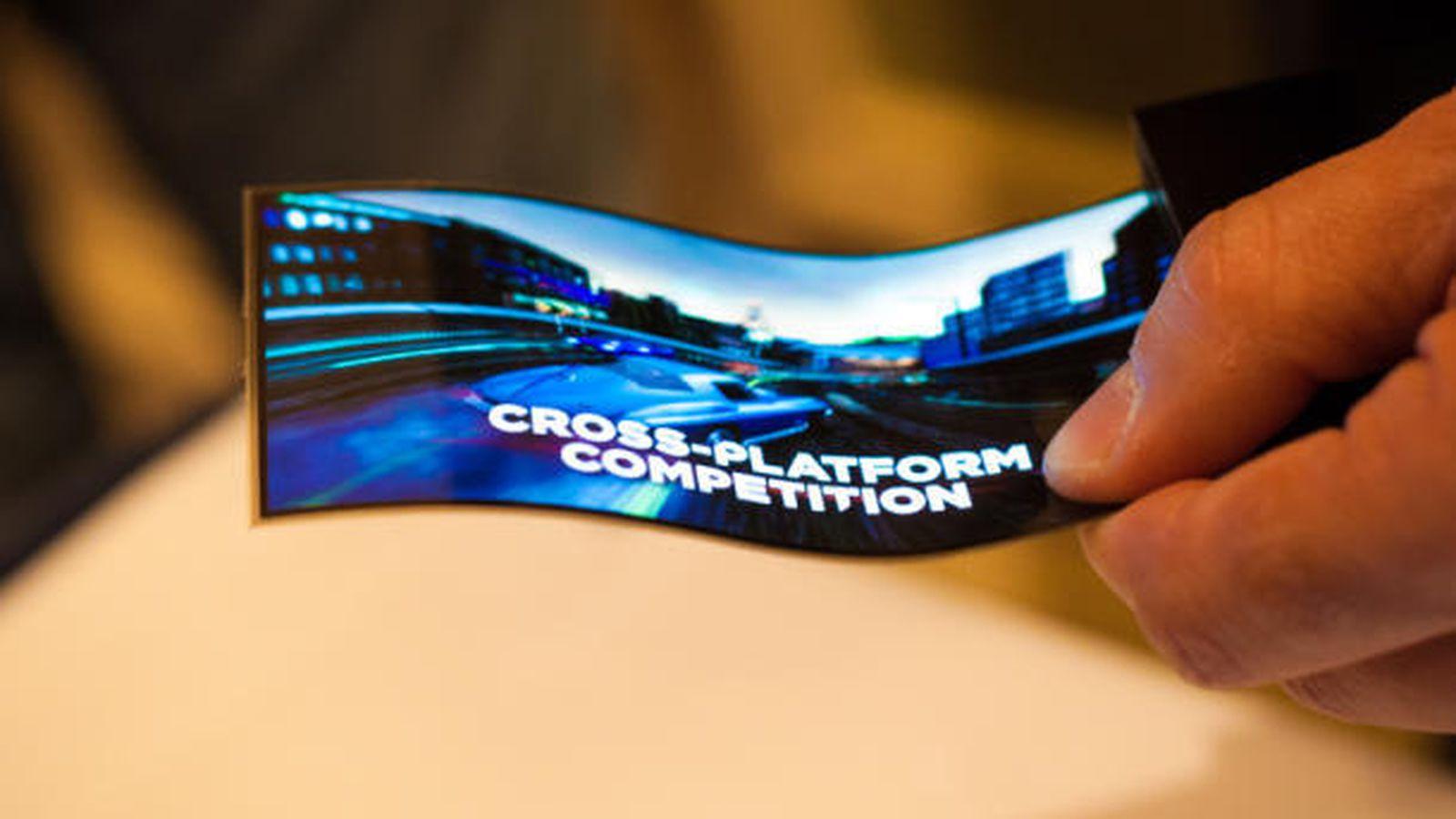 Samsung představil nový ohebný OLED displej