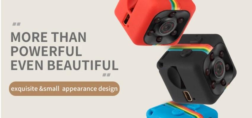 Mini kamerka s nočním viděním a detekcí pohybu na Cafago.com [Sponzorovaný článek]