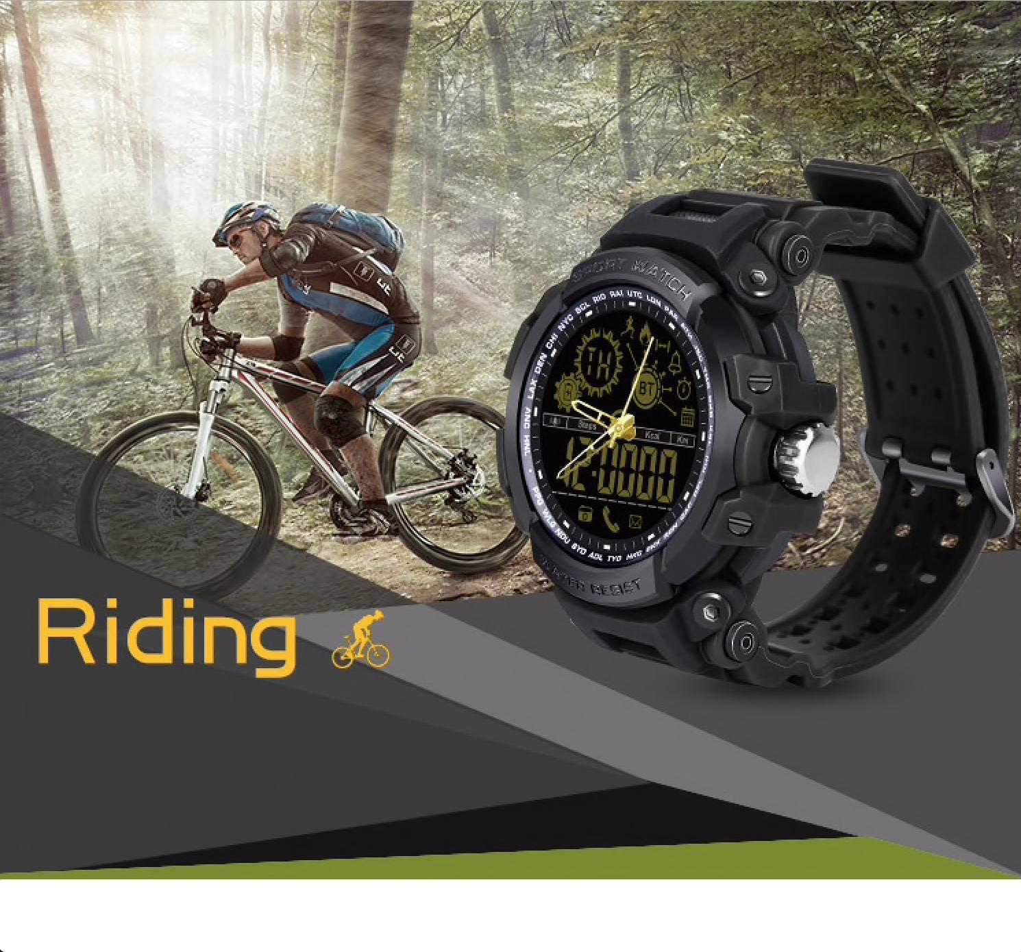 Gearbest: chytré hodinky Diggro DI10 za 447 Kč a s výdrží přes 360 dnů! [sponzorovaný článek]