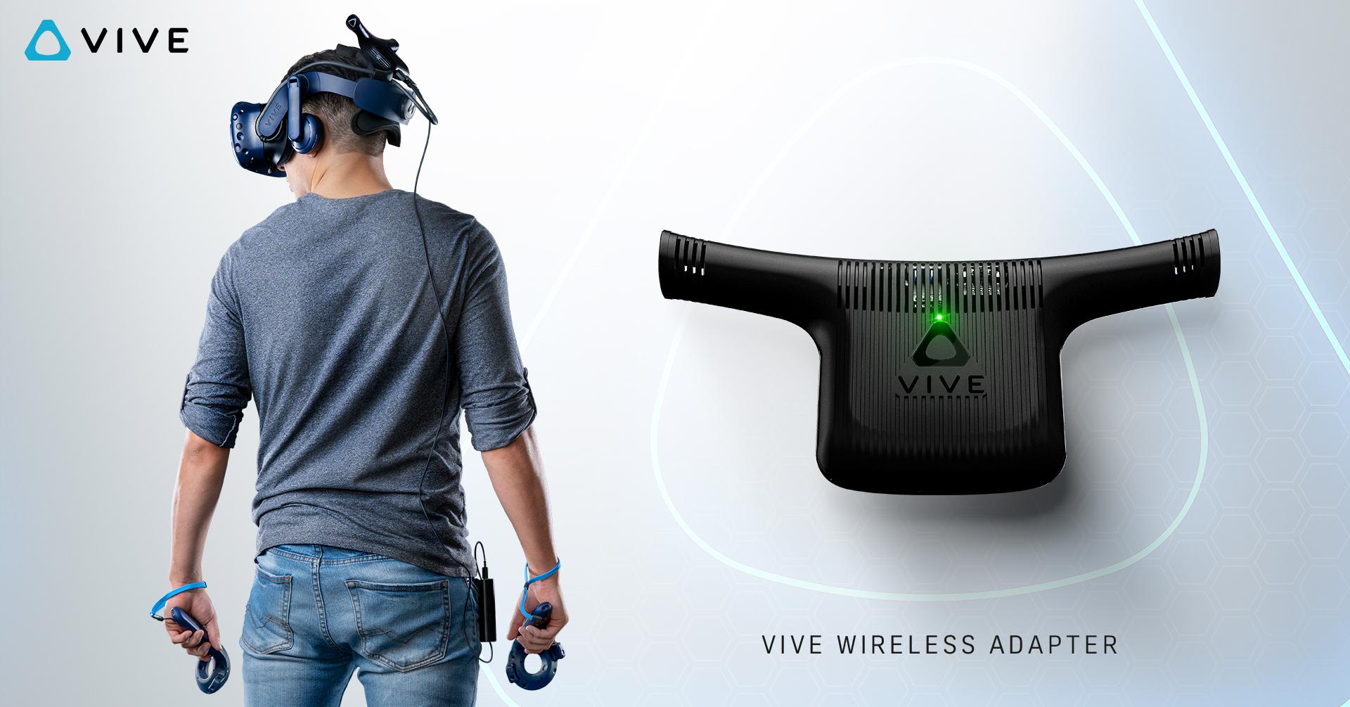 Vive Wireless Adapter – HTC Vive se zbavuje kabelů