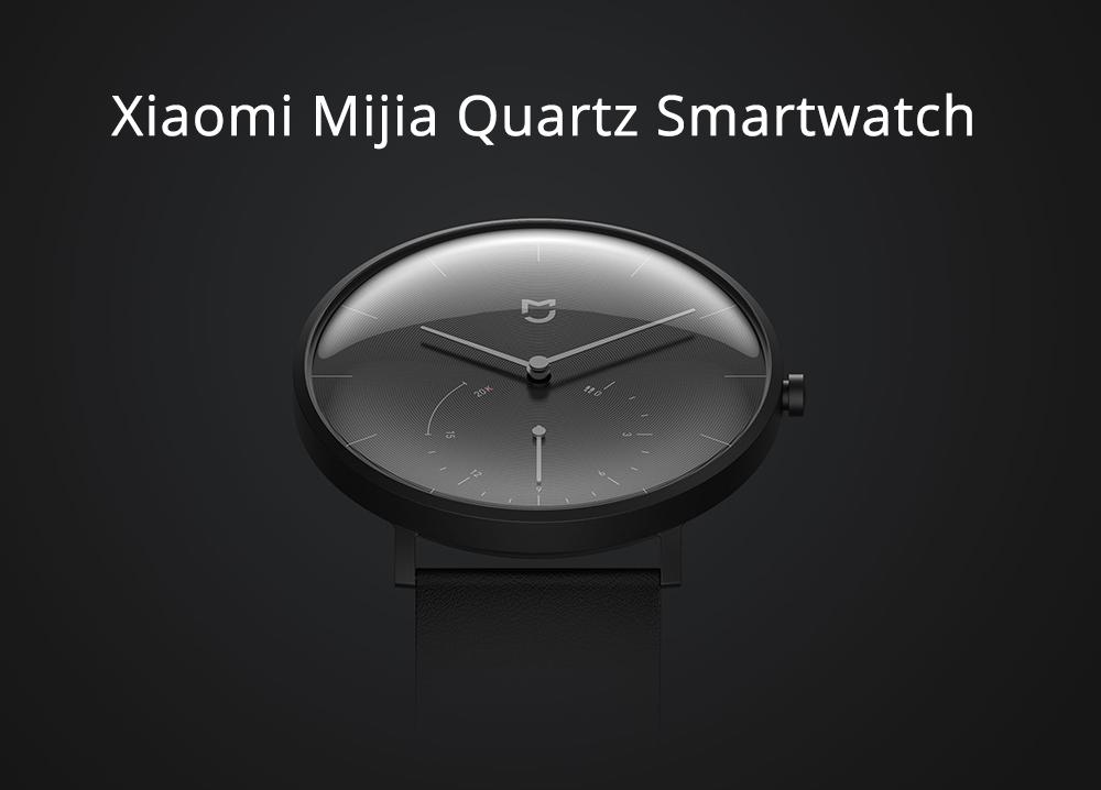 Gearbest: Elegantní chytré hodinky Xiaomi Mijia Quartz nyní za velmi nízkou cenu! [sponzorovaný článek]