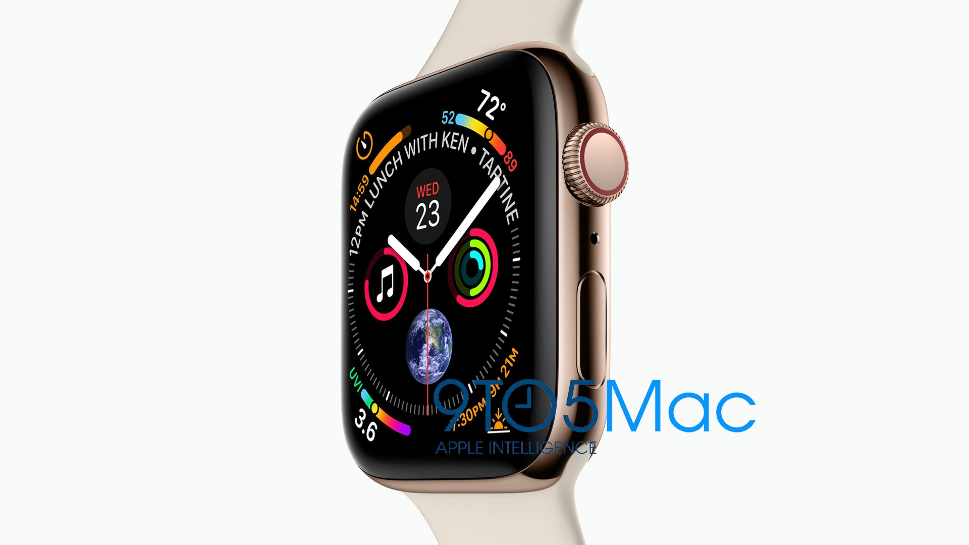 Apple Watch Series 4 se ukazují – větší displej, nová témata a další