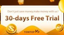 TomTopVip: Vyzkoušejte si VIP program na měsíc zdarma [Sponzorovaný článek]