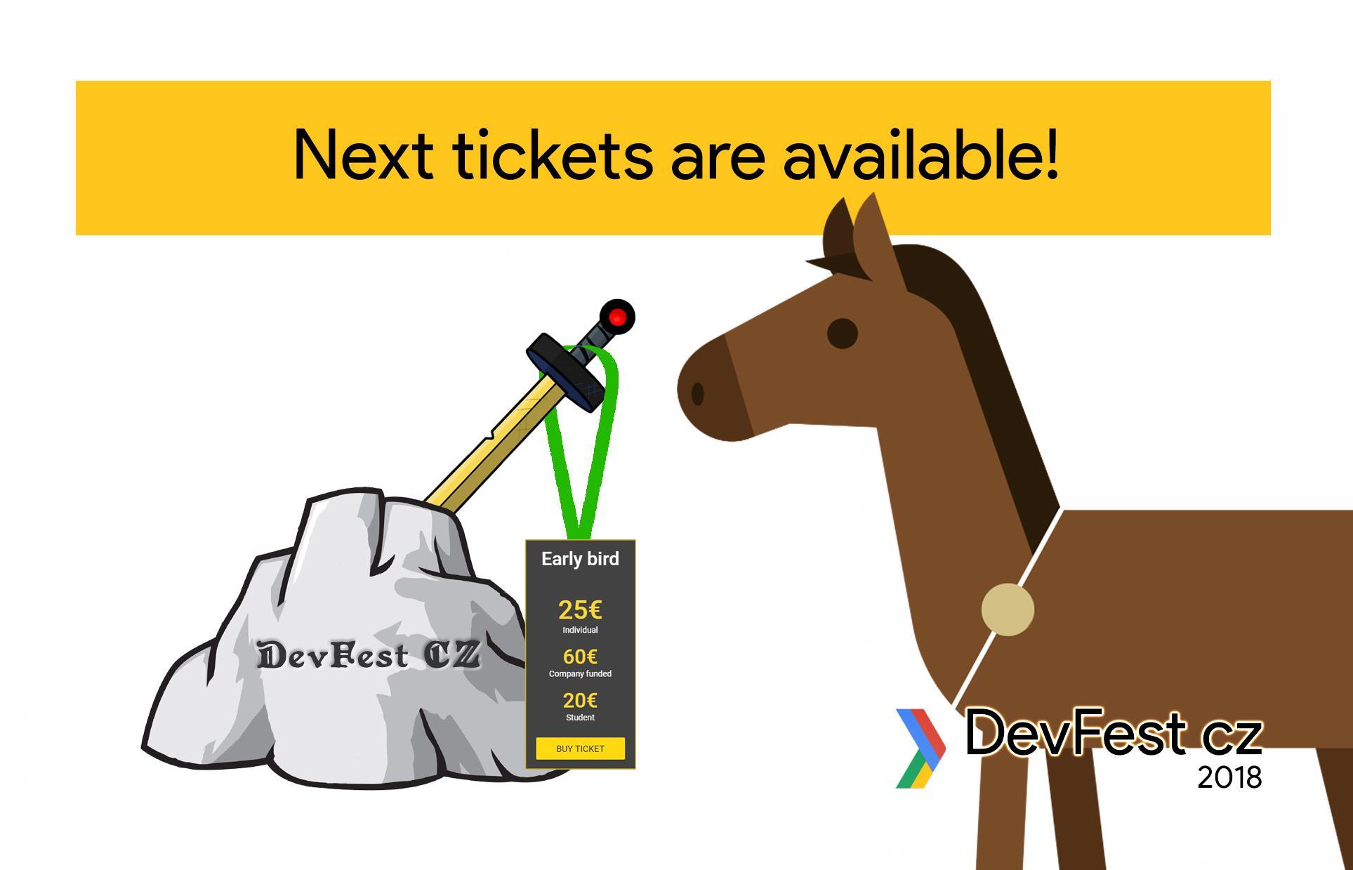 DevFest CZ spouští Early Bird lístky a oznamuje venue