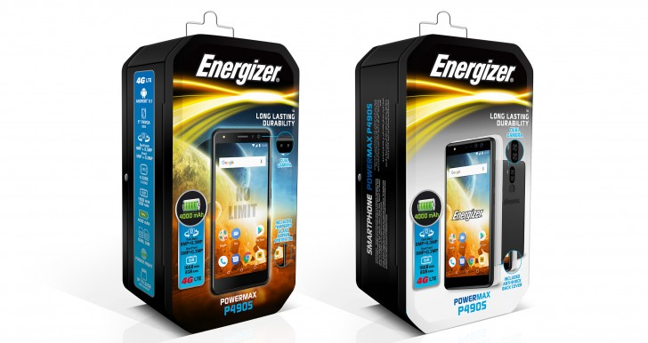 Energizer Power Max P490 a P490S nabídnou 4 000 mAh baterii a další