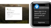Microsoft Authenticator oficiálně najdete na Apple Watch