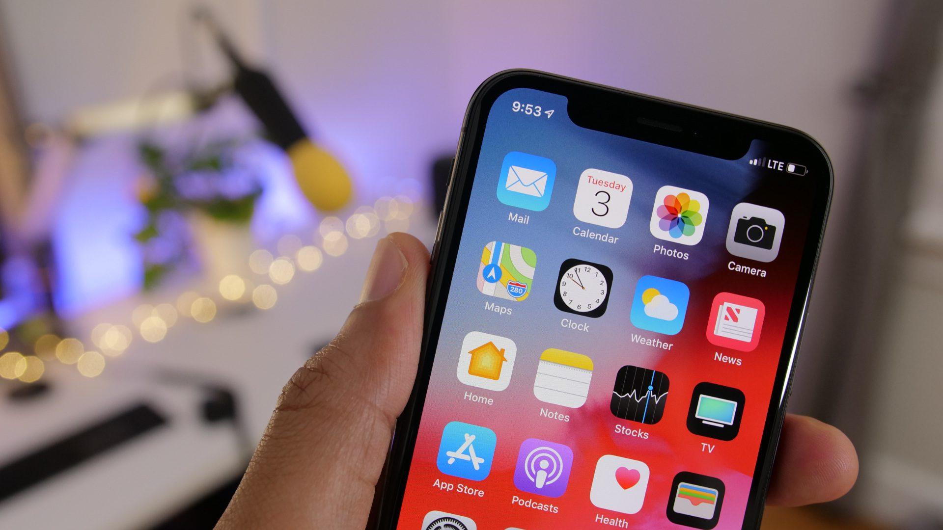 iOS 12 je nainstalováno na 83 % zařízení prodaných za poslední 4 roky