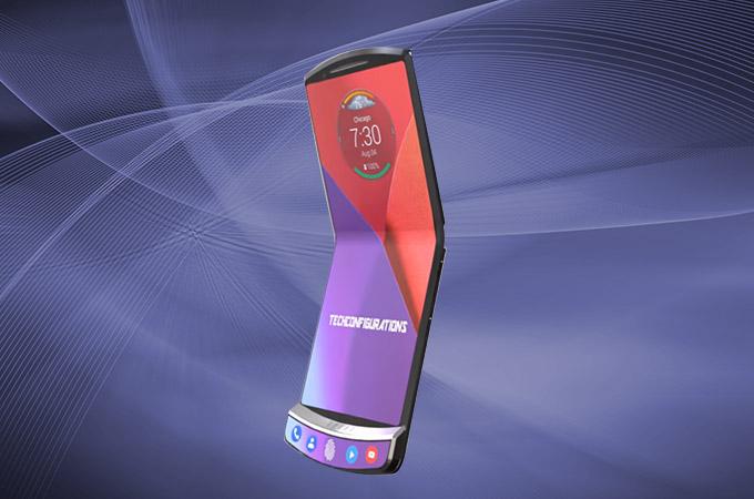 Motorola RAZR na prvních náčrtcích s ohebným displejem?