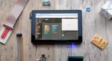 """Raspberry Pi Tablet """"RasPad"""", aneb jak udělat programování jednodušší"""