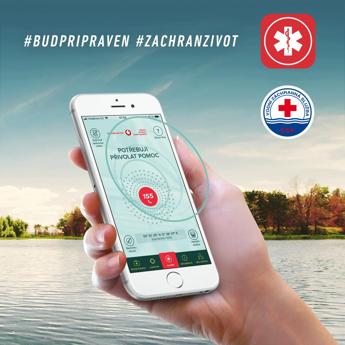Aplikace Záchranka se opět rozšiřuje o novou funkci