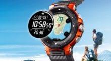 Casio představilo hodinky WSD-F30 s Wear OS, dvojitým displejem a měsíční výdrží