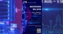 ZTE se vrací, na IFA představí Axon 9