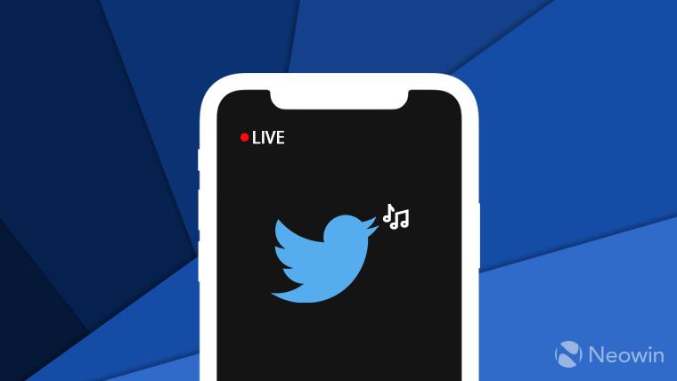 Twitter představil funkci streamování zvuku pro iOS