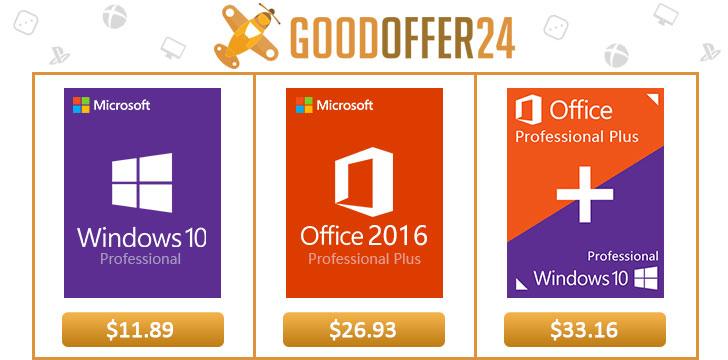 GoodOffer24: Windows 10 Professional nyní ve slevě [Sponzorovaný článek]