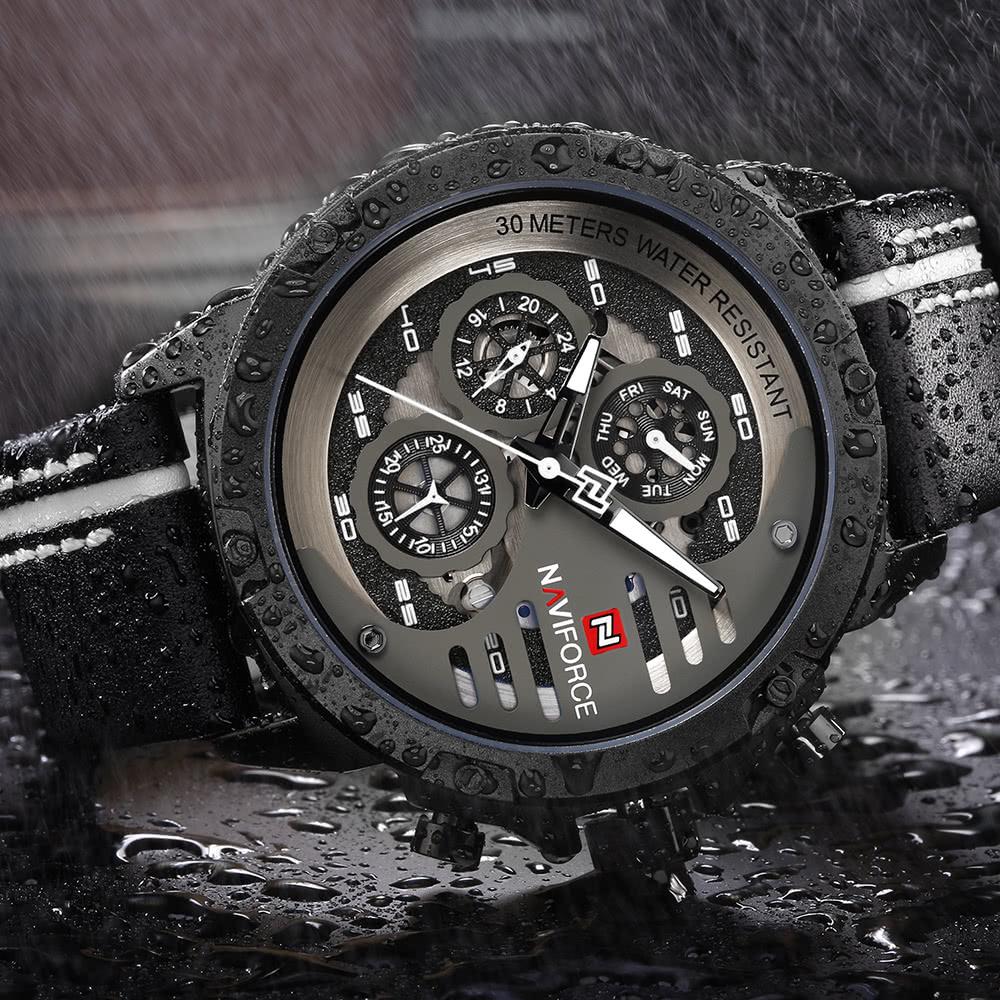 daaea9d3c00 Elegantní hodinky NAVIFORCE s dvanáctiměsíční výdrží nyní ve slevě ...
