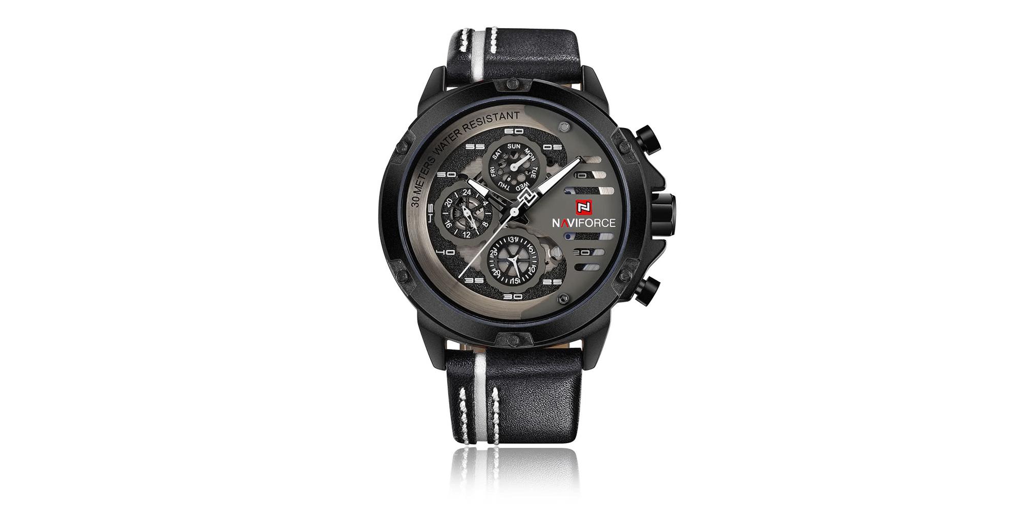Elegantní hodinky NAVIFORCE s dvanáctiměsíční výdrží nyní ve slevě! [sponzorovaný článek]