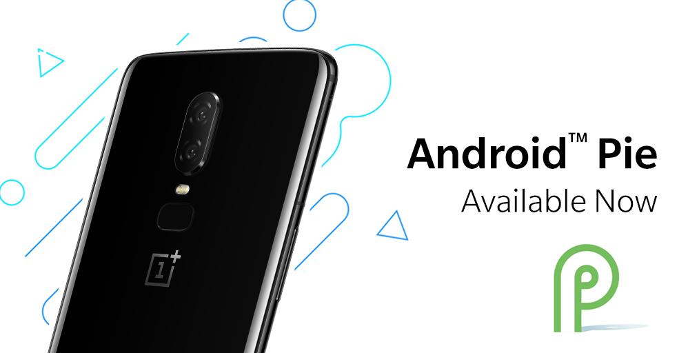 Android 9 Pie vychází oficiálně pro OnePlus 6 [aktualizováno]