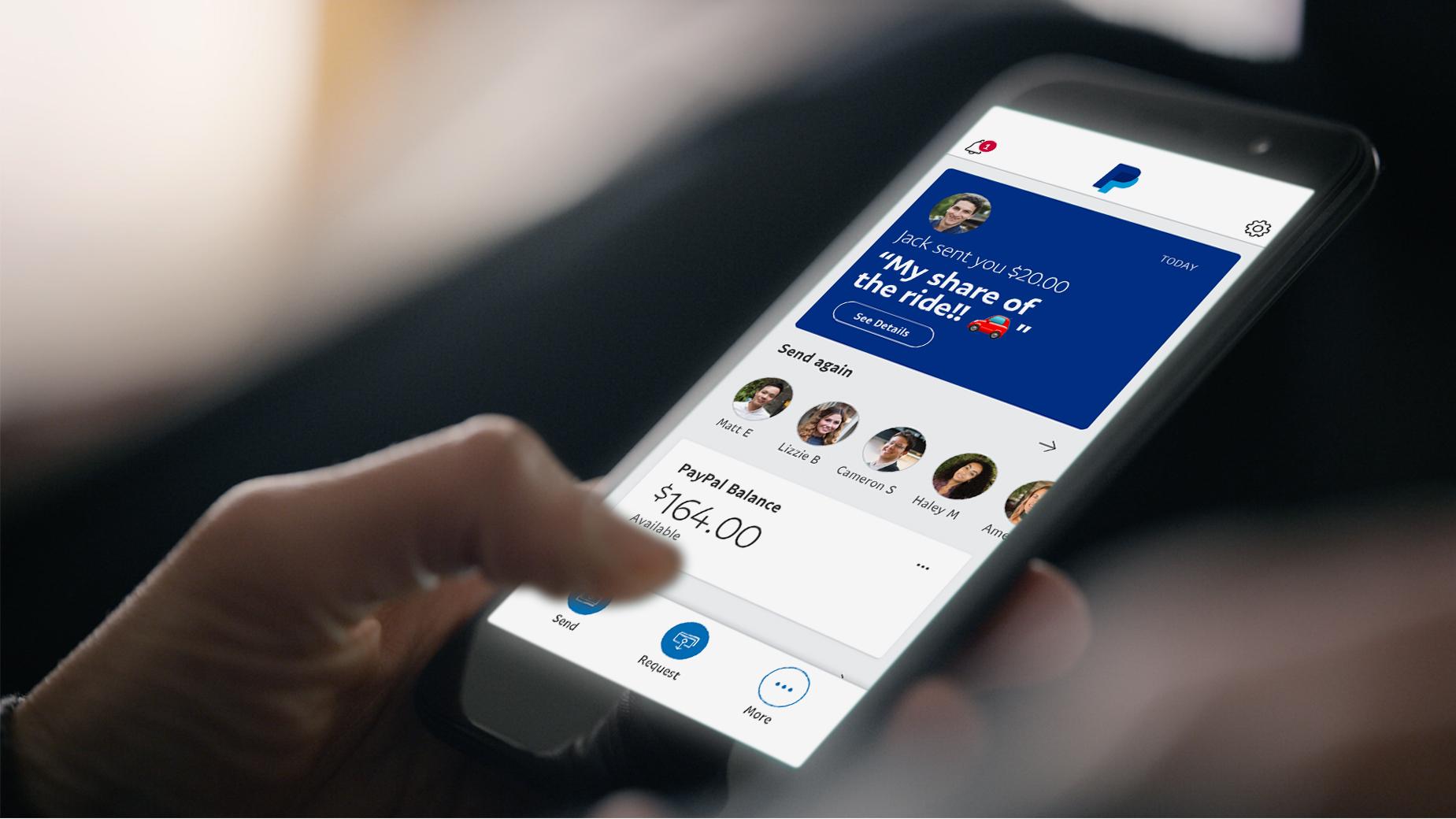 PayPal představil vylepšenou aplikaci zaměřenou na možnosti zákazníků [aktualizováno]