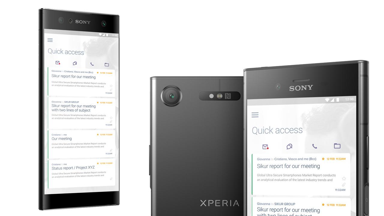 SIKURPhone XZ1 a XA2 lákají na extrémní zabezpečení