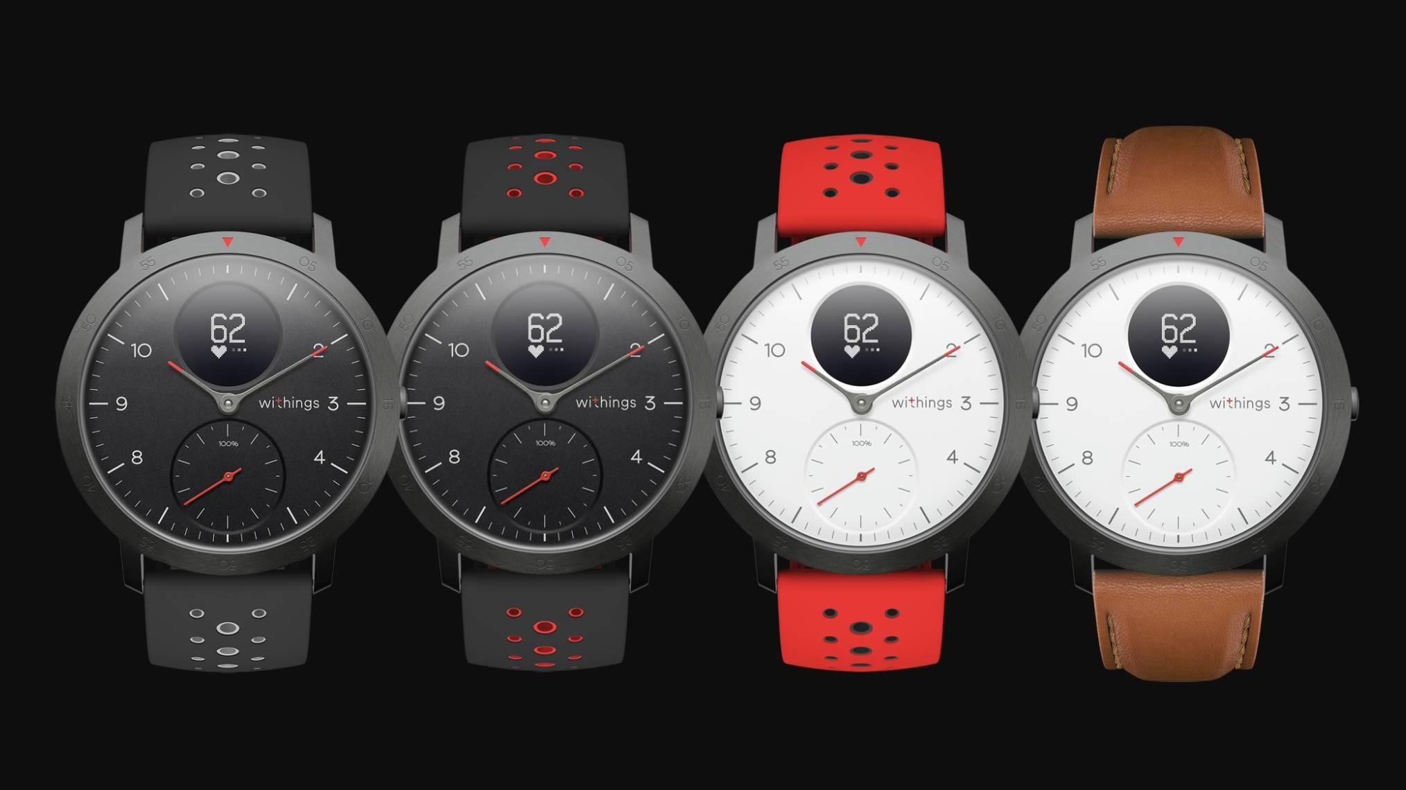 Withings představilo hybridní chytré hodinky Steel HR Sport