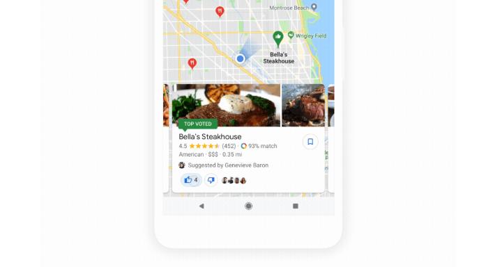 """Google Mapy získávají """"skupinové plánování"""""""