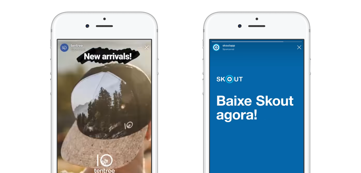 Do Facebook a Messenger Stories zavítají reklamy