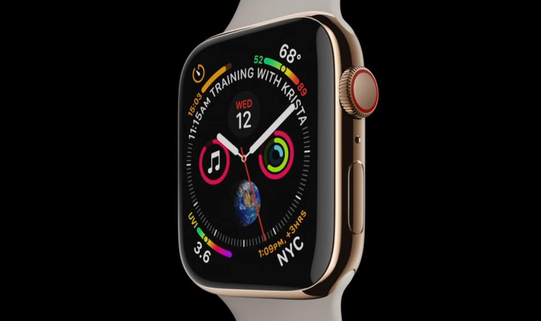 Nová generace Apple Watch přináší větší displej a EKG